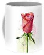 Rose Watercolor Coffee Mug