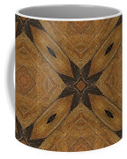 Wooden Maltese Cross Fresco Coffee Mug
