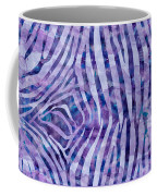 Purple Zebra Print Coffee Mug