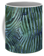 Green Zebra Print Coffee Mug