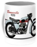 1959 T120 Bonneville Coffee Mug