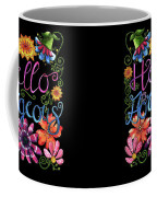 Hello Gorgeous Black  Coffee Mug