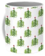 Winter Holiday Trees 2- Art By Linda Woods Coffee Mug
