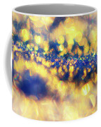 Ice Canyon In Purple And Gold Coffee Mug by Heidi Anne Morris