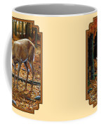 Whitetail Deer - Autumn Innocence 2 Coffee Mug by Crista Forest