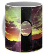 American Sunset As Vintage Album Art Coffee Mug