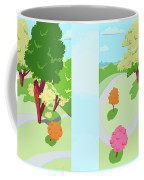 Sunnyside Park In The Spring Coffee Mug