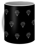 Pattern With Diamonds Coffee Mug