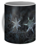 Snowflake Photo - When Winters Meets Coffee Mug by Alexey Kljatov
