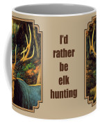 Elk Painting - Autumn Majesty Coffee Mug