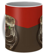 Electric Drill Motor, Green Trigger On Colored Paper Coffee Mug