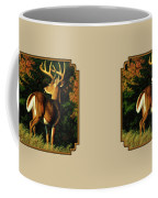 Whitetail Buck - Indecision Coffee Mug
