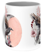 Visions Of Crystal Eyed Ravens Coffee Mug