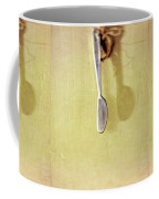Hanging Knife On Jute Twine Coffee Mug