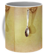 Hanging Spoon On Jute Twine Coffee Mug