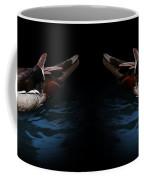 Spotlight On A Wood Duck Coffee Mug
