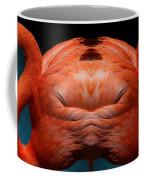 Profile Of An American Flamingo Coffee Mug