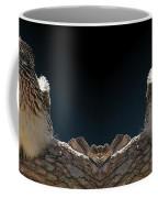 Roadrunner On A Log Coffee Mug