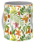 Tropical Flora Coffee Mug