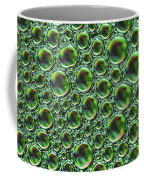 Abstract Green Alien Bubble Skin Coffee Mug