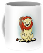 Lion Peaceful Reflection  Coffee Mug