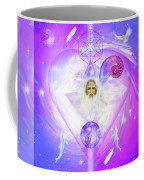 Heart Of The Violet Flame Coffee Mug