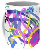 Abstract Garden #2 Coffee Mug by Bee-Bee Deigner