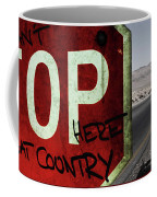 This Is Bat Country Coffee Mug