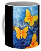 Butterfly In Blue 1 Coffee Mug