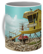 T7 Lifeguard Station Kapukaulua Beach Paia Maui Hawaii Coffee Mug