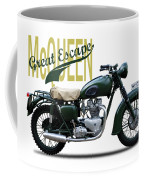 The Great Escape Motorcycle Coffee Mug by Mark Rogan