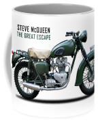 The Great Escape Motorcycle Coffee Mug