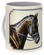 Dressage Horse - Concentration Coffee Mug