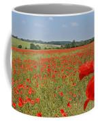 Poppy Fields 1 Coffee Mug