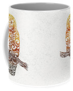 Swirly Owl Coffee Mug
