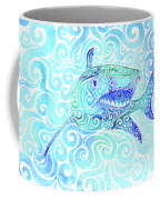 Swirly Shark Coffee Mug