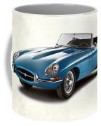 Jaguar E-type Coffee Mug