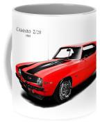 Chevrolet Camaro Z 28 Coffee Mug by Mark Rogan