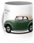 Vw Beetle 1953 Coffee Mug