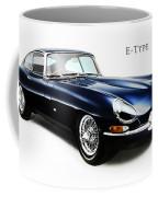 E Type Jaguar Coffee Mug