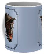 Horse Painting - Discipline Coffee Mug by Crista Forest