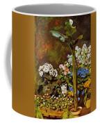 Arum And Conservatory Plants 1864 Coffee Mug