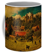 Arundel Castle With Cows Coffee Mug
