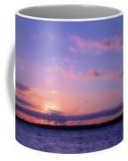 As Sun Sets Coffee Mug