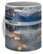As The Day Ends At West Glacier Coffee Mug