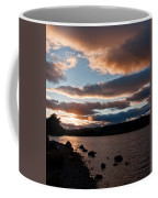 As The Sun Sets Over Loch Rannoch Coffee Mug