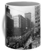 Asahel Curtis, 1874-1941, Draft Parade, Seattle Coffee Mug