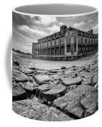 Asbury Park Rocks, Black And White Coffee Mug