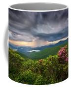 Asheville North Carolina Blue Ridge Parkway Thunderstorm Scenic Mountains Landscape Photography Coffee Mug