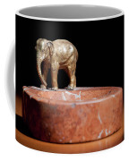 Ashtray With Elefant Coffee Mug